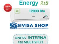 Climatizzatore HISENSE ENERGY 12000 BTU cod.art. TQ35XE00G solo UNITA' INTERNA per MULTISPLIT