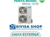 UNITA' ESTERNA Free Match HISENSE PENTA MODEL 28000 BTU 12,3 kW mod. AMW123U4SE