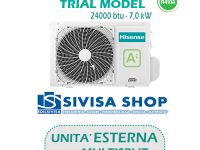 UNITA' ESTERNA Free Match HISENSE TRIAL MODEL 24000 BTU 7,0 kW mod. 3AMW70U4SAD1